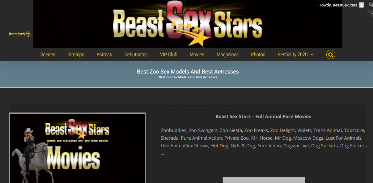 Beastiality Porn Models, Animal Sex Actresses And ZooSex Porn Stars